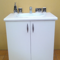 Bathroom Vanity Unit + Basin + Mixer