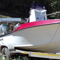 Ace Craft 16 ft skiboat - Spearfishing dream boat