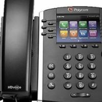 "Polycom VVX 410 12-Line IP Phone Gigabit PoE, Skype 3.5"" Color Graphical Display (320x240)  12 lines"