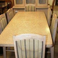 9 Piece Diningroom Set S022853B #Rosettenvillepawnshop