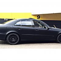 Full Matt black Merc E200
