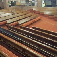Church Benches for sale (R500 per meter)