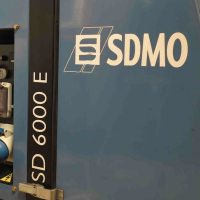 NEW SDMO Enclosed Diesel Generator - ideal for home - Noise proof -  Auto Start - 6 kVA