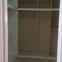 Inside bedroom with build in cupboards to let in Kensington