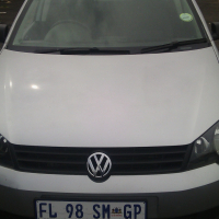 A Vw polo vivo,2013 model, 64000km, silver in color, factory a/c, c/d player, central locking, power