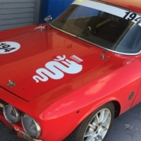 Alfa Romeo GTV 2000 Race Car 1971