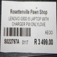 Lenovo G500 Laptop S022797A #Rosettenvillepawnshop
