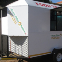 M.JHB.  MOBILE KITCHEN FOOD TRAILER.