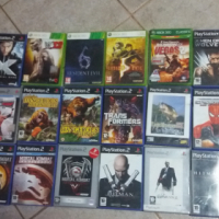 PlayStation 2 and xbox 360 games