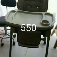 Very sturdy and safe high chair.