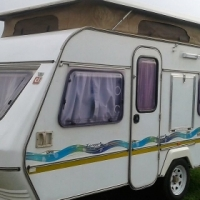 Sprite escape 1995 caravan