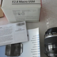 Canon EF-S 60mm f/2.8 USM Macro Lens UNUSED