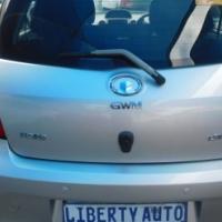 2011 GWM Florid Cross 1.5VVT Hatch Back 86,000km Manual Gear, Cloth Upholstery, Electric Windows, El