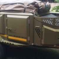 Chukudu Demo Camping Trailer for sale
