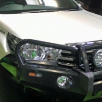 New Hilux Revo Ironman 4x4 Front Replacement Bumper