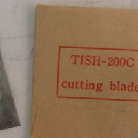 TISH-200C cutting blade
