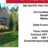 WE INVITE YOU TO OUR SHOW HOUSE IN BEDELIA