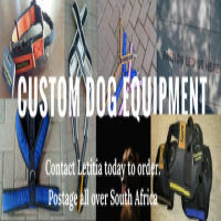 Custom made dog equipment