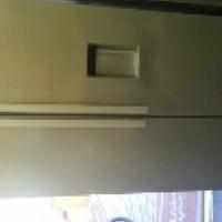 defy double door fridge with water dispenser