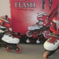 roller blades kids sizes (10-13) and (1-3)