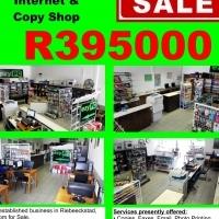 BUSINESS FOR SALE - Computer, Internet & Copy Shop