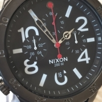 **STYLISH** Nixon Men's The 48-20 P Chronograph Watch TO SELL OR SWOP