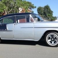Classic Car for sale - 1955 Chev BelAir V8 Auto FOR SALE - Licenced