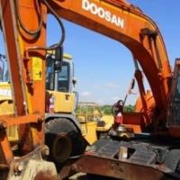 Excavators Doosan Doosan Solaris, 180W Wheeled Excavator
