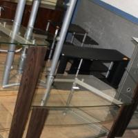 Glass TV Stand S023020A #Rosettenvillepawnshop