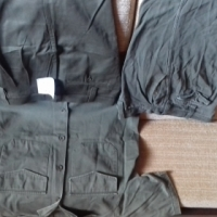 Good condition mens pants, jeans and 3 piece work set Kaki for men for sale