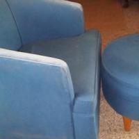 Single Arm Chair with ottoman