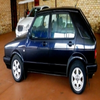 Black VW City Golf 1.4 Sport in an excellent condition