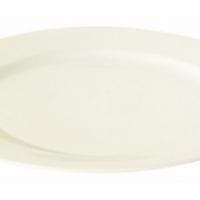 Round rim plate 27cm Luzerne