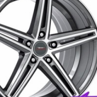 "19"" A-Line Radiant 5/120 GMMF Alloy Wheels"