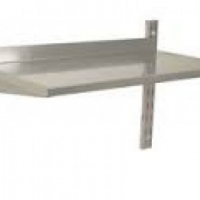 Stainless Steel Single Wall Shelving SSW0600 Catering Equipment