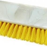 Hi-Lo Floor Scrub Brush - 250mm - Yellow Carlisle