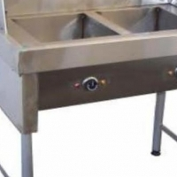 Spaza Fryer Gas Chip fryer 2 x 20Lt including baskets