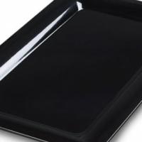 Buffet platter rectangular 430 x330mm Black Carlisle