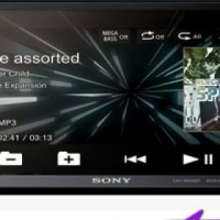 Sony XAV-W650BT Double Din DVD with Bluetooth Receiver