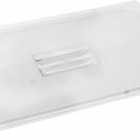 Insert third solid lid PC (Clear) Carlisle