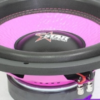 Starsound Spectrum Pink Series 6500w dvc Subwoofer