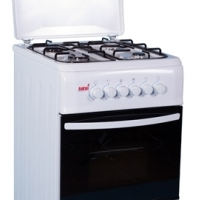 4 BURNER FULL GAS STOVE WHITE 03/T300 Kithchen Appliance