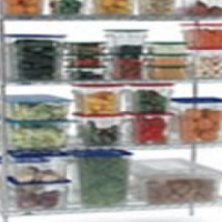 Shelf with clips for shelving unit - 905mm Global