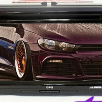 """Audiobank Double Din 6.2"""" DVD System for VW"""