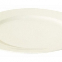 Round rim plate 21cm Luzerne