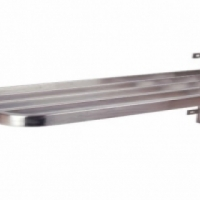 Pot rack S/Steel - Single wall mouted - 900 x 400 x 400mm Global