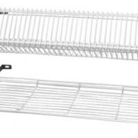 Wall mounted crockery rack - 3 shelf - 1105