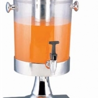 Juice dispenser  S/Steel - 1 Bowl Contemporary