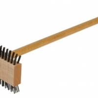 Grill Brush – Carbon Steel With Handle Carlisle