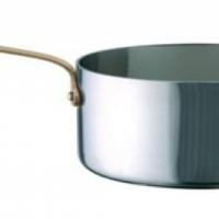 Sauce pan mini S/Steel 120 x 75mm - No Lid Infiniti